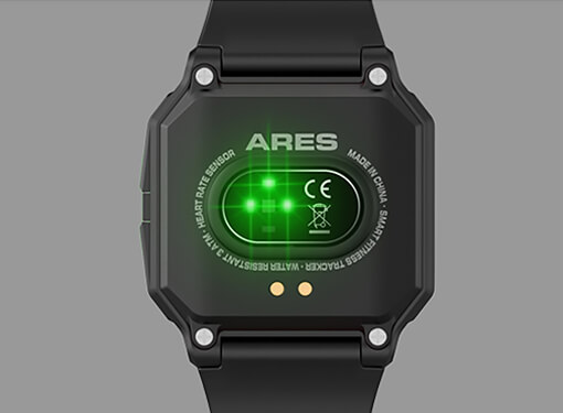 Zeblaze Ares High Precision Sensors