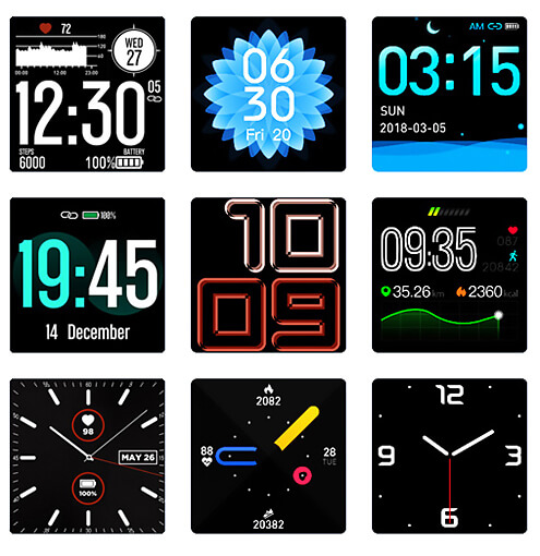 Zeblaze Ares Personalized Watch Faces