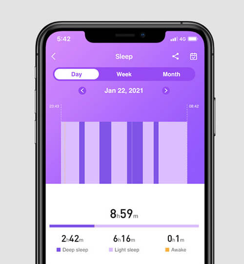 Zeblaze Ares Sleep Tracking a Stages