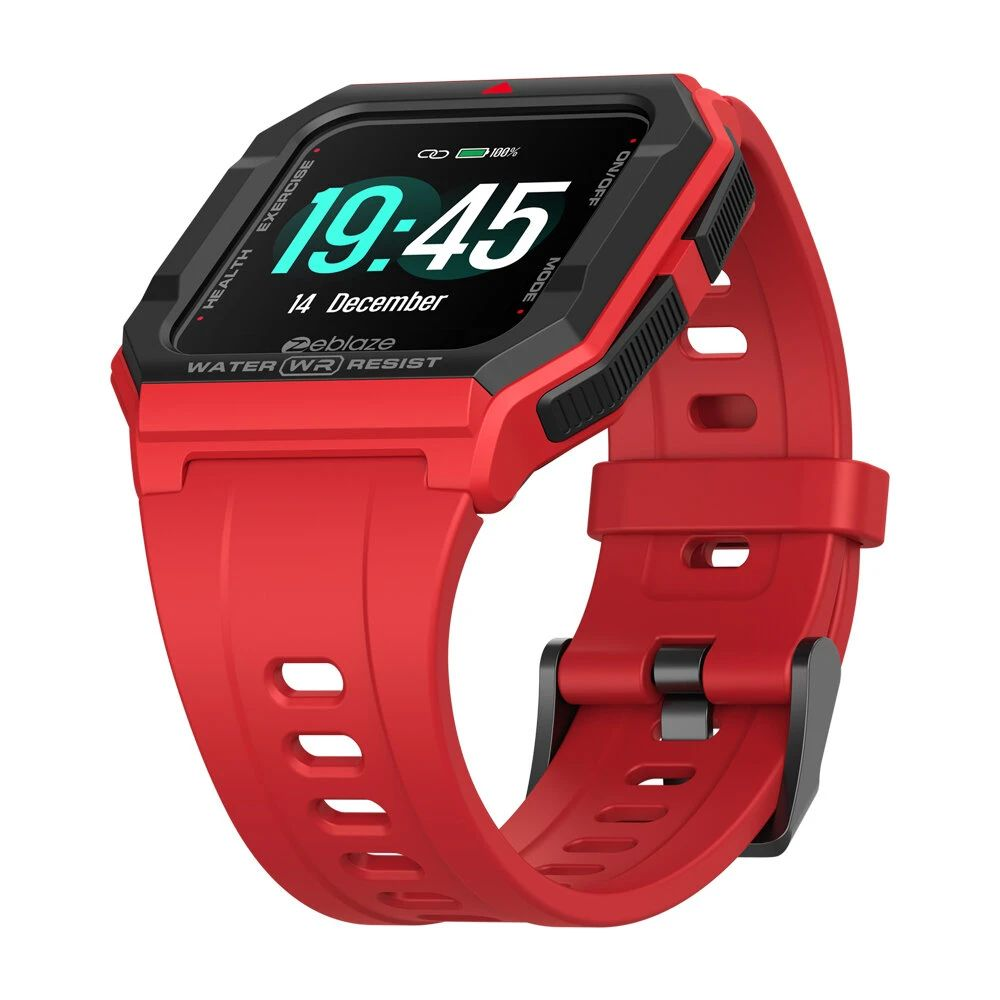 Zeblaze Ares Red strap
