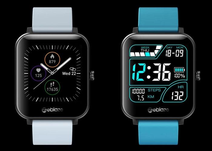 Zeblaze GTS 60+ personalized watch faces