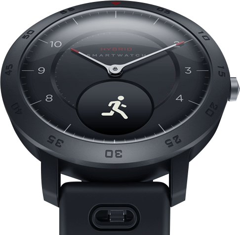 Zeblaze Hybrid Smartwatch smartwatch with hidden touch screen display