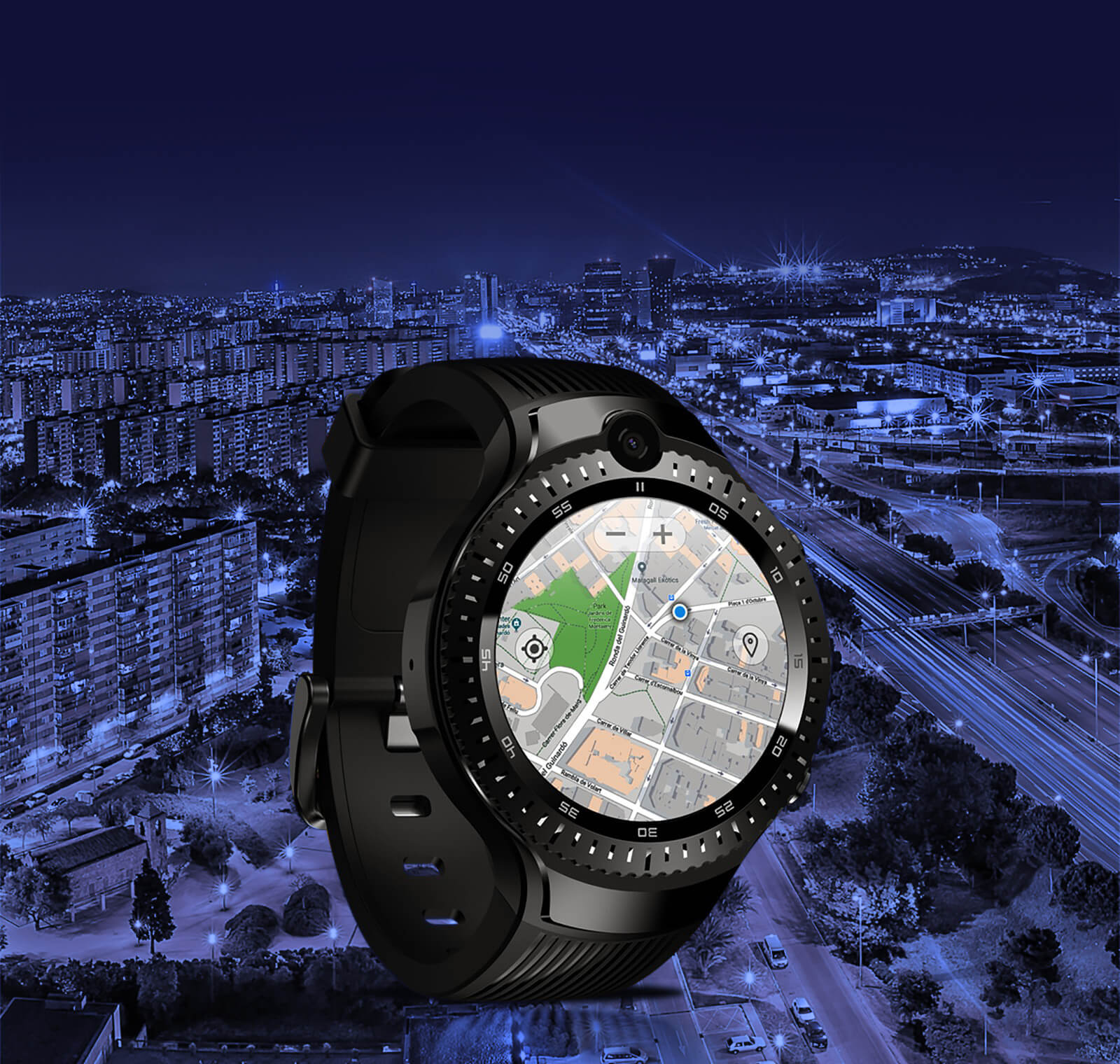 Zeblaze THOR 4 Dual GPS google map navigation