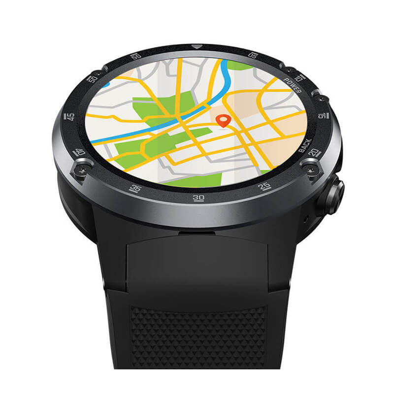 Zeblaze Thor 4 Plus Watch Map