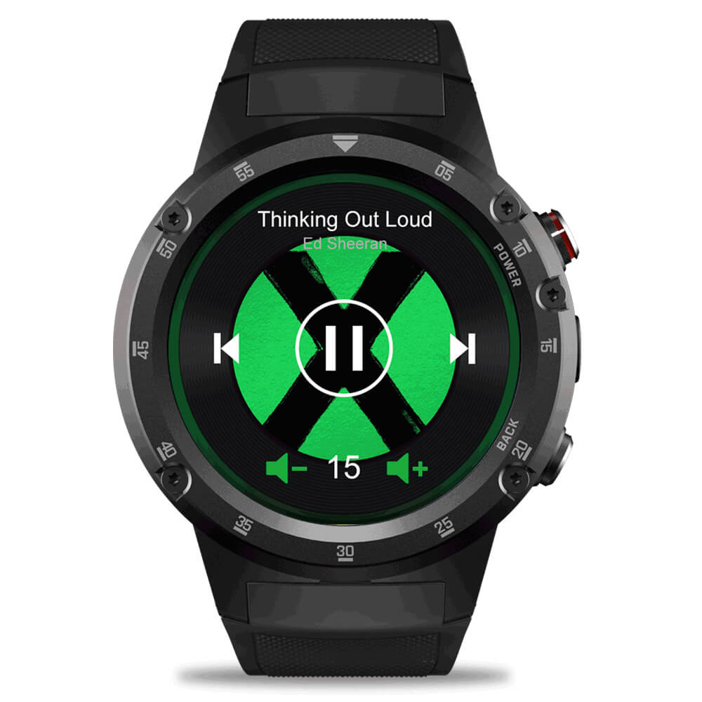 Zeblaze Thor 4 Plus Watch Offline Music