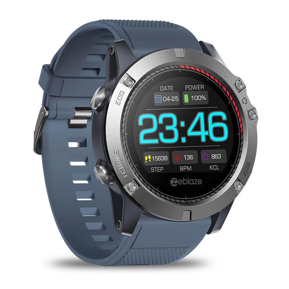 Zeblaze Vibe 3 ECG smartwatch — Worldwide delivery