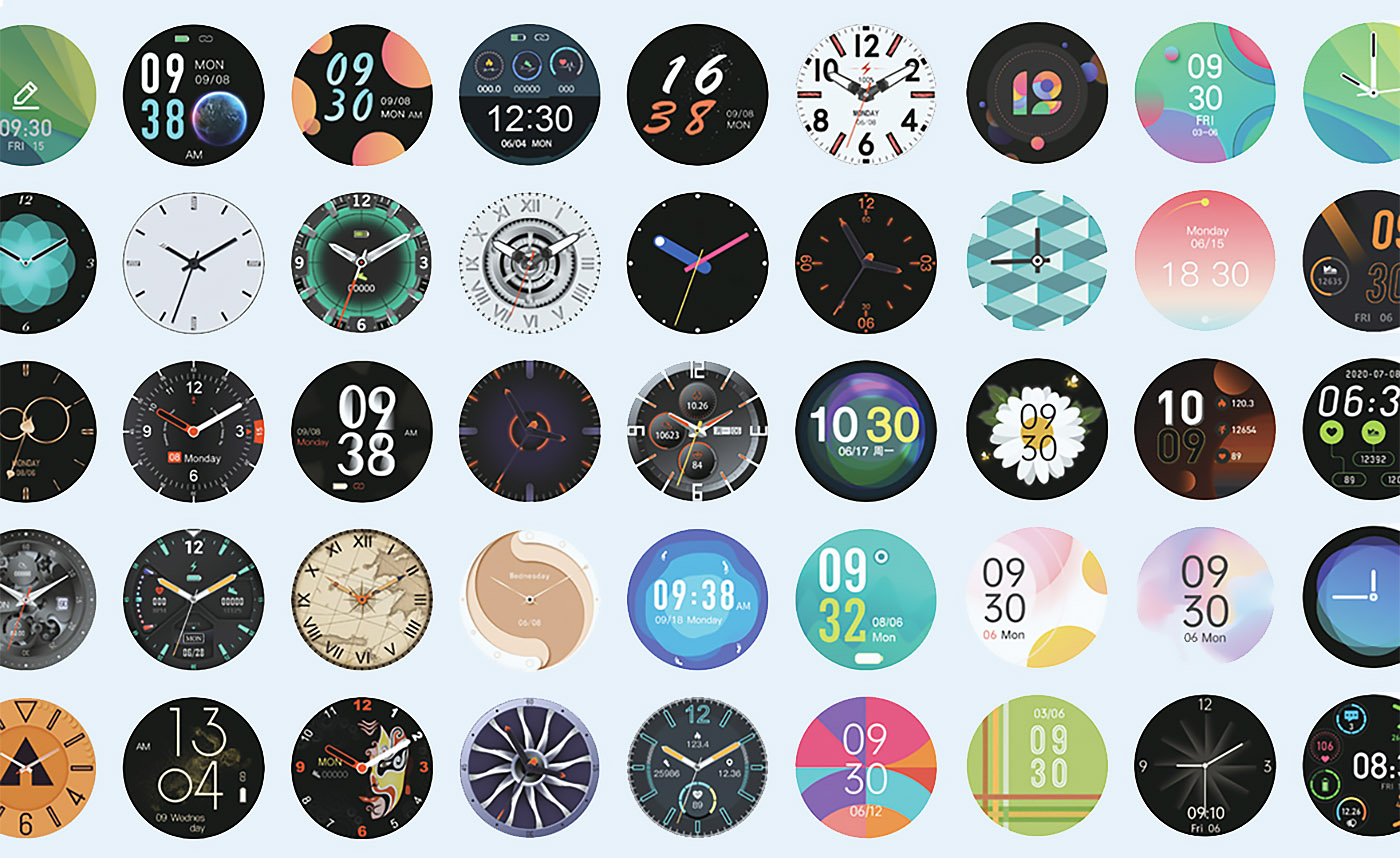Zeblaze VIBE 3S HD 50+ personalized watch faces