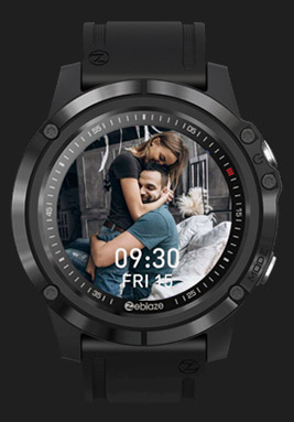 Zeblaze VIBE 3S HD customize watch faces 2