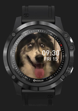 Zeblaze VIBE 3S HD customize watch faces 3