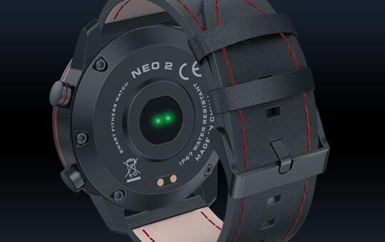 Zeblaze NEO 2 Sensors Heart-rate sensor Proximity sensor Accelerometer